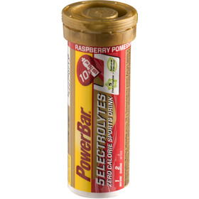 PowerBar 14 Electrolytes Zero Calorie Sports Drink tabletter 10 stk., Rasperry-Pomgranate